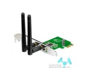 ASUS ASUS PCE-N15  WiFi Adapter PCI-E (PCI-Ex1, WLAN 300Mbps, 802.11bgn) 2x ext Antenna